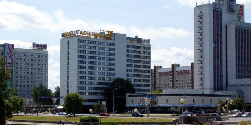 Гостиничный комплекс «Юбилейный» по пр. Победителей, Минск