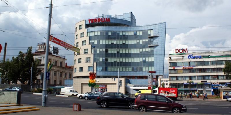 Бизнес-центр «Terrum» по ул. Московская, Минск