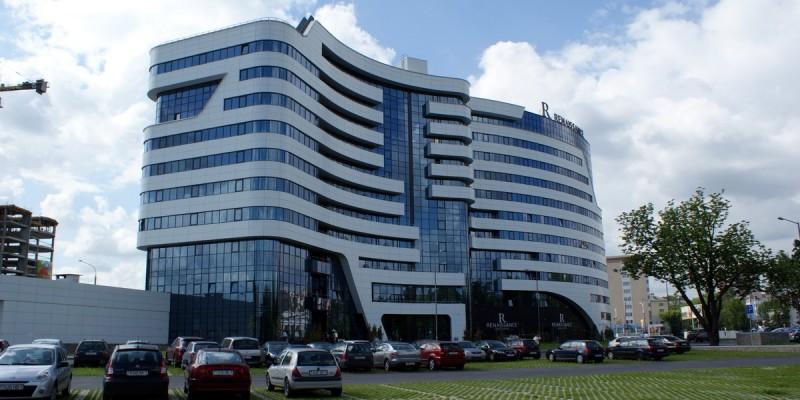 Отель сети «Marriott» по пр. Дзержинского, Минск