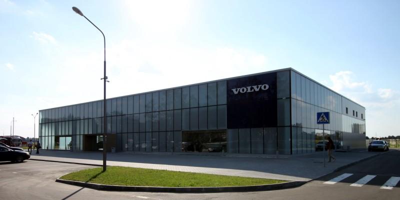 Автосалон «Volvo», Минск